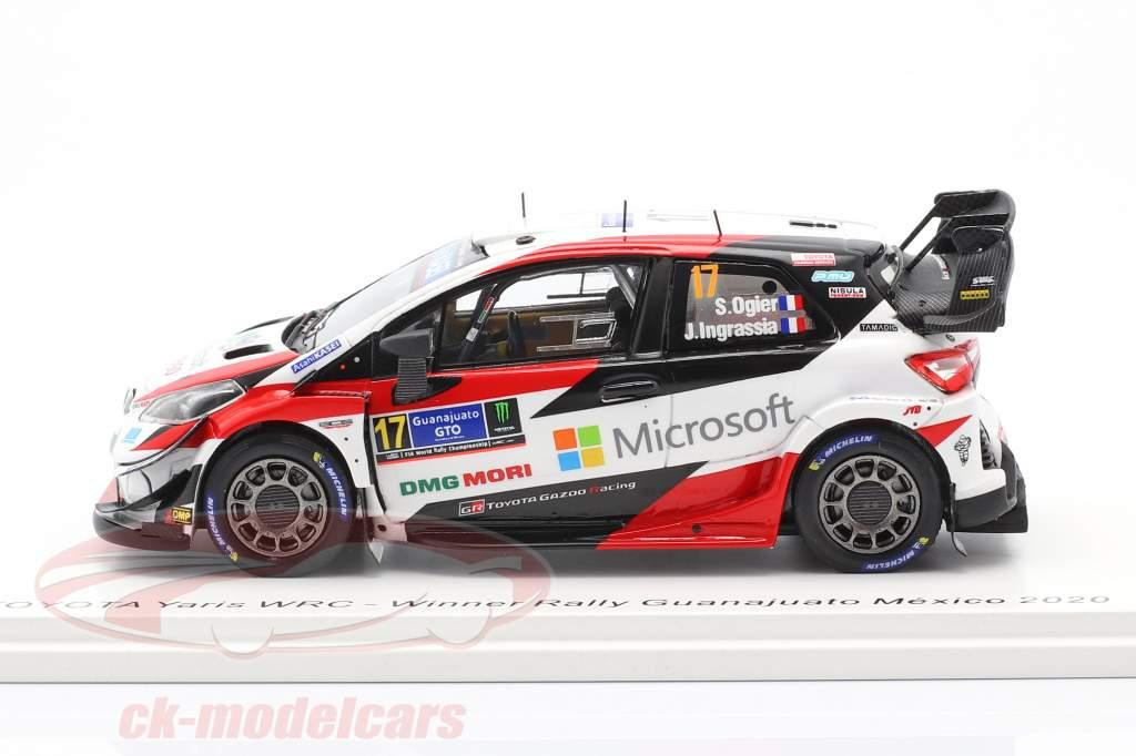 Toyota Yaris WRC #17 Sieger Rallye Mexiko 2020 Ogier, Ingrassia 1:43 Spark