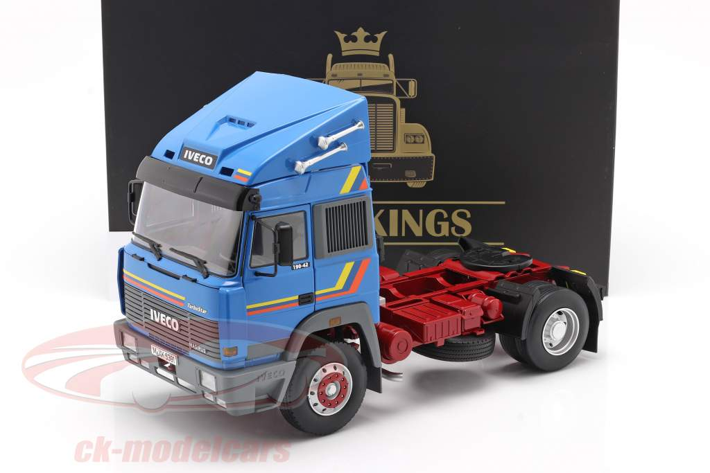 Iveco Turbo Star Truck year 1988 blue 1:18 Road Kings