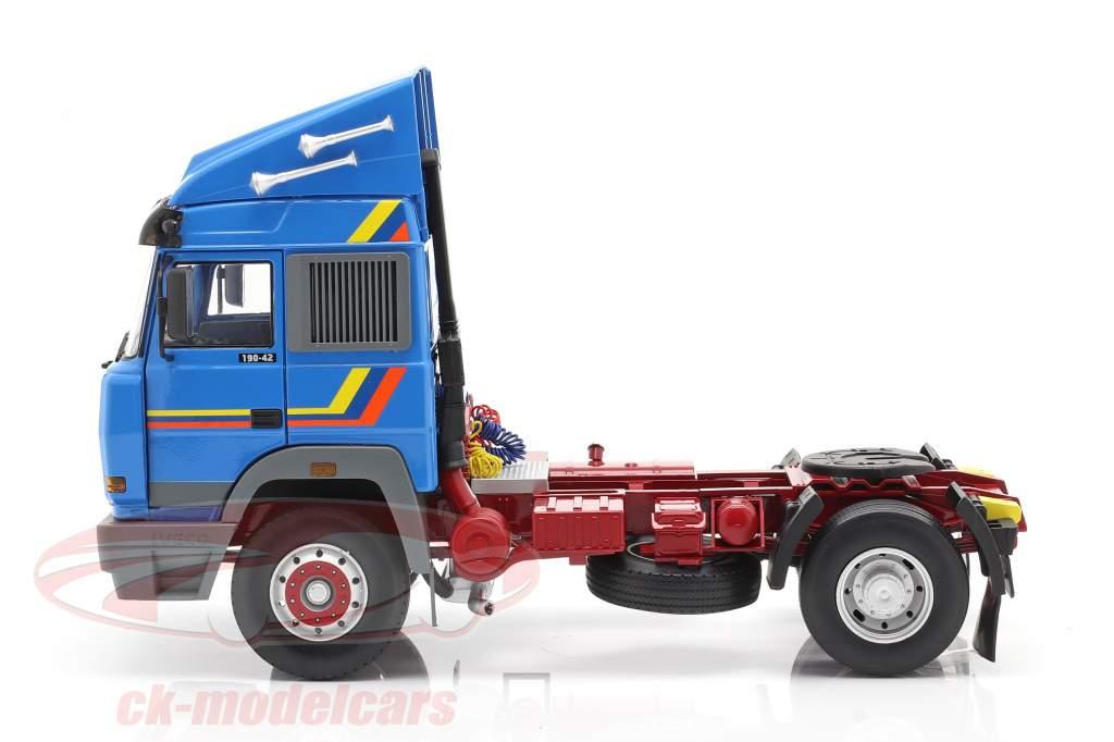 Iveco Turbo Star Caminhão Ano de construção 1988 azul 1:18 Road Kings