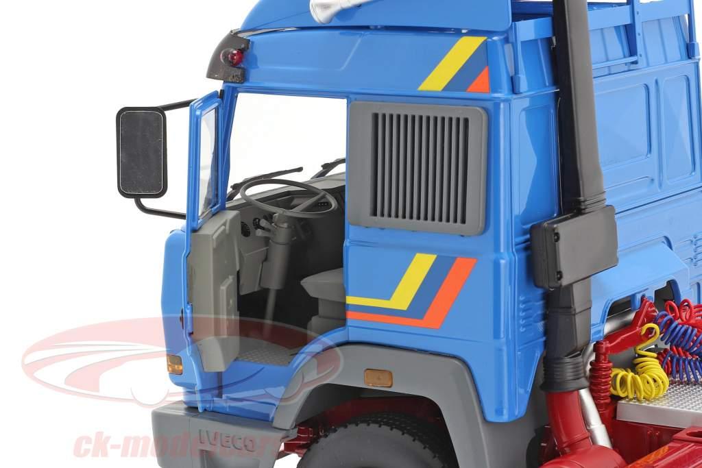 Iveco Turbo Star Sattelzugmaschine Baujahr 1988 blau 1:18 Road Kings
