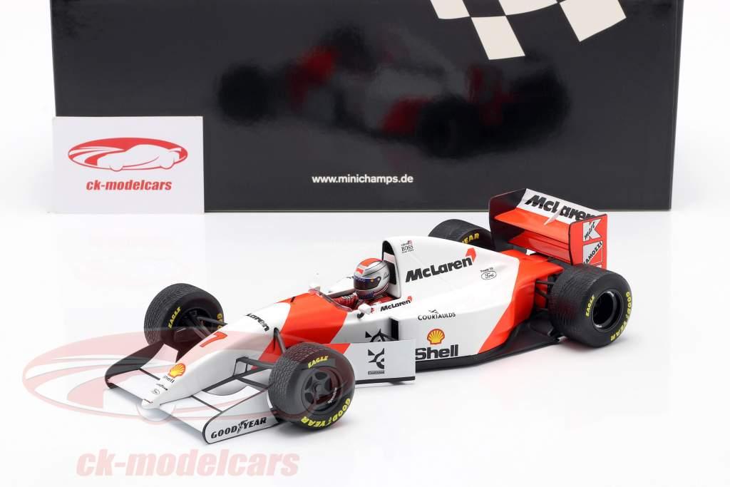 Michael Andretti McLaren MP4/8 #7 Sexto europeo GP fórmula 1 1993 1:18 Minichamps
