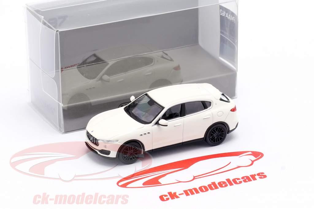 Maserati Levante Bouwjaar 2018 Wit 1:87 Minichamps