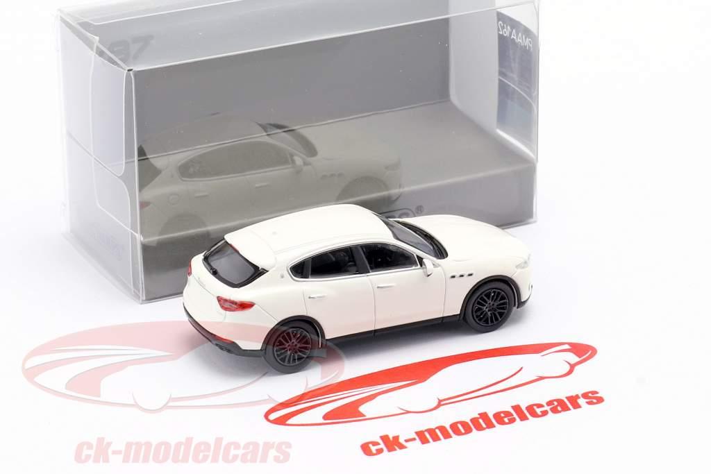 Maserati Levante Baujahr 2018 weiß 1:87 Minichamps
