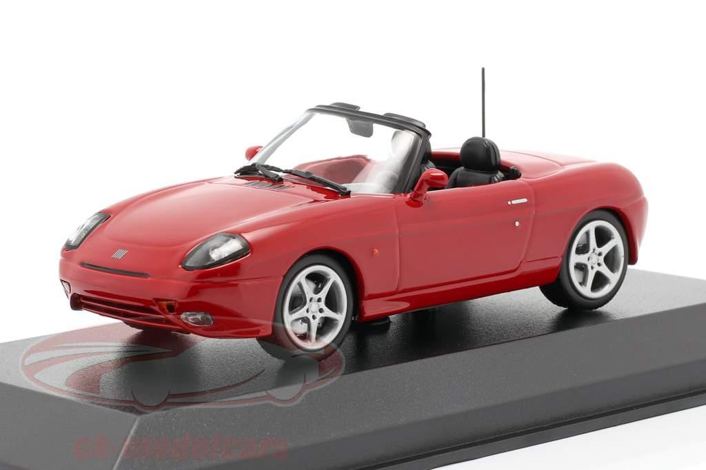 Fiat Barchetta Année de construction 1995 rouge 1:43 Minichamps