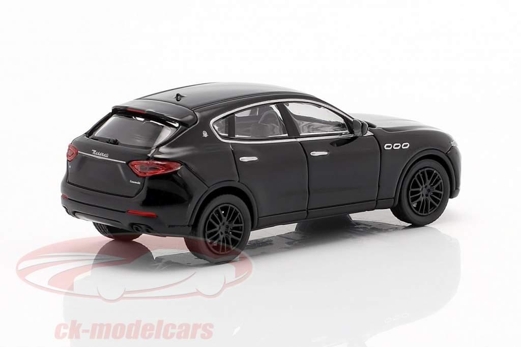 Maserati Levante Anno di costruzione 2018 nero 1:87 Minichamps