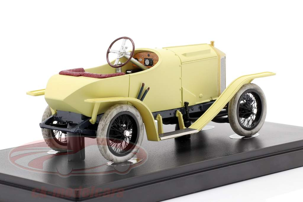 Laurin & Klement FCR year 1909 beige / cream yellow 1:43 AutoCult