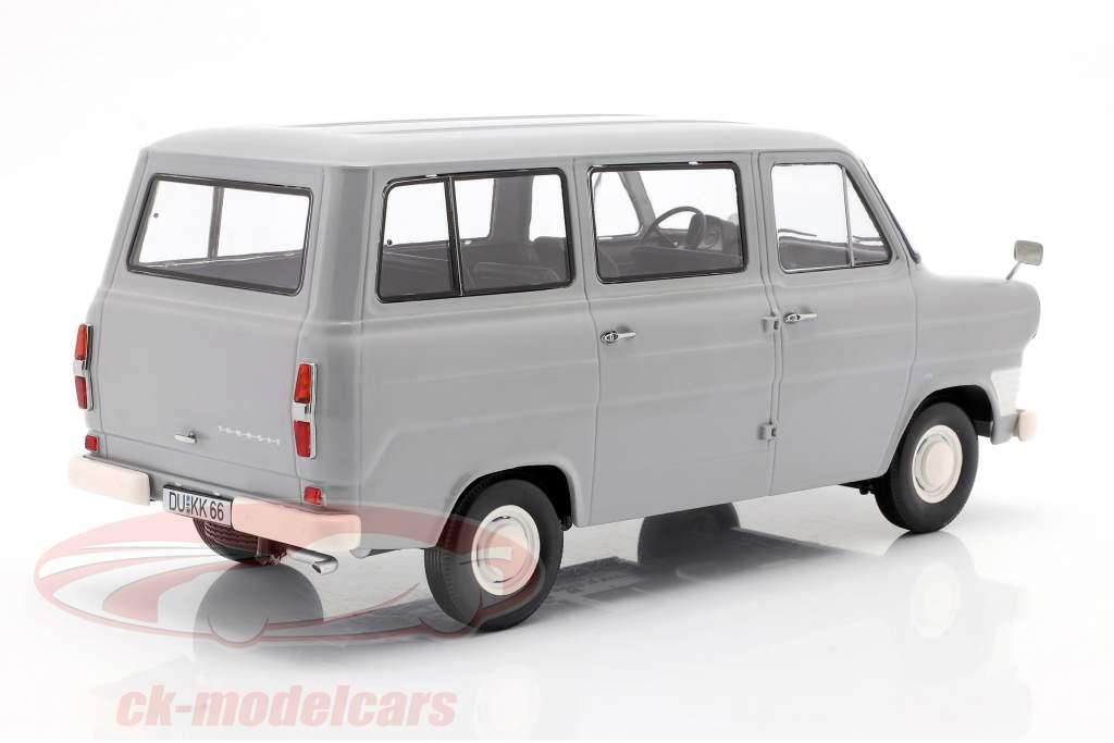 Ford Transit MK1 Bus Baujahr 1965 grau 1:18 KK-Scale