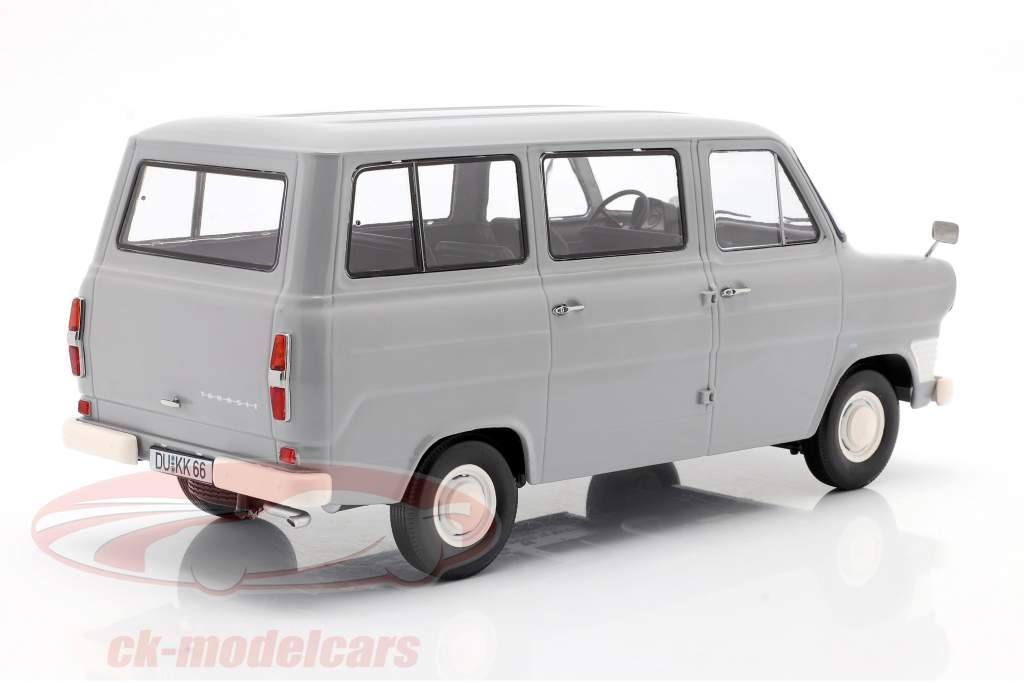 Ford Transit MK1 bus year 1965 grey 1:18 KK-Scale