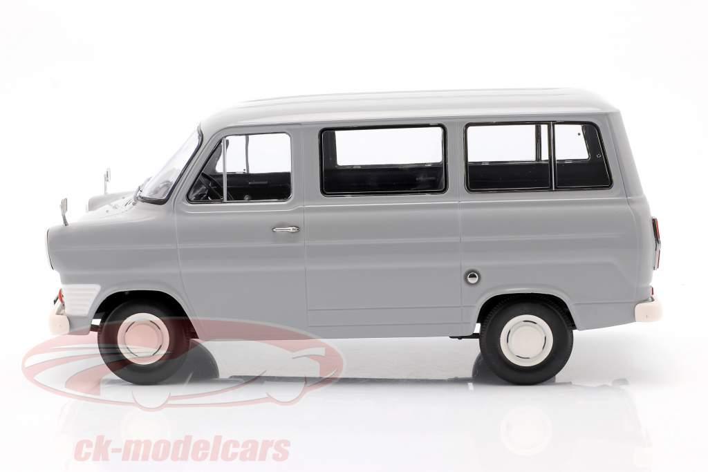 Ford Transit MK1 bus år 1965 grå 1:18 KK-Scale