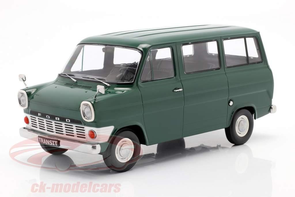 Ford Transit MK1 autobus anno 1965 buio verde 1:18 KK-Scale