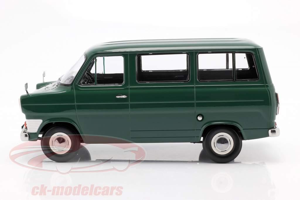 Ford Transit MK1 autobús año 1965 oscuro verde 1:18 KK-Scale