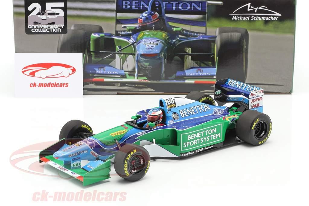 M. Schumacher Benetton B194 #5 vinder Canada F1 Verdensmester 1994 1:18 Minichamps