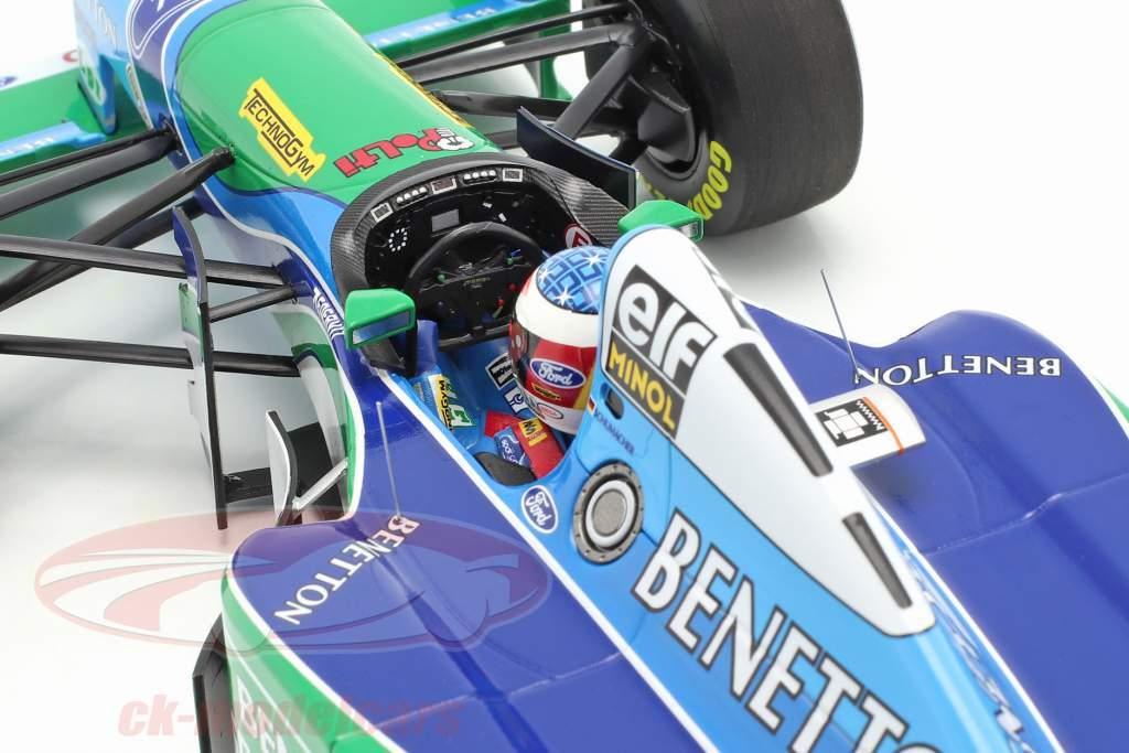 M. Schumacher Benetton B194 #5 vencedora Canadá F1 Campeão mundial 1994 1:18 Minichamps