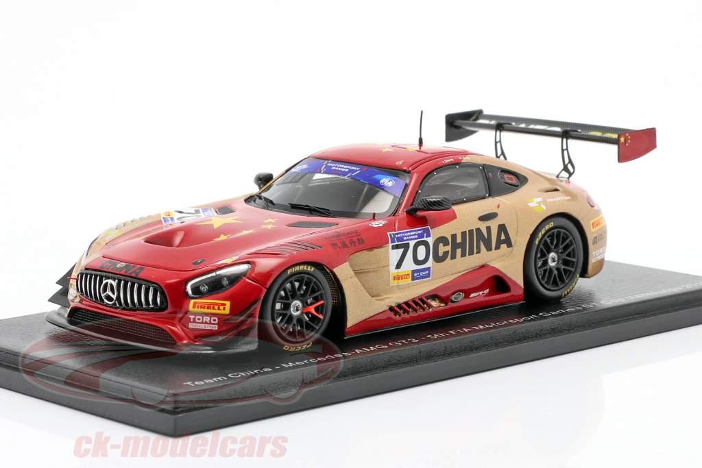 Mercedes-Benz AMG GT3 #70 5. plads FIA Motorsport Games GT Cup 2019 1:43 Spark