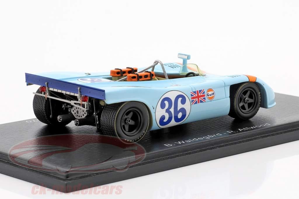 Porsche 908/03 #36 5 ª Targa Florio 1970 Waldegaard, Attwood 1:43 Spark