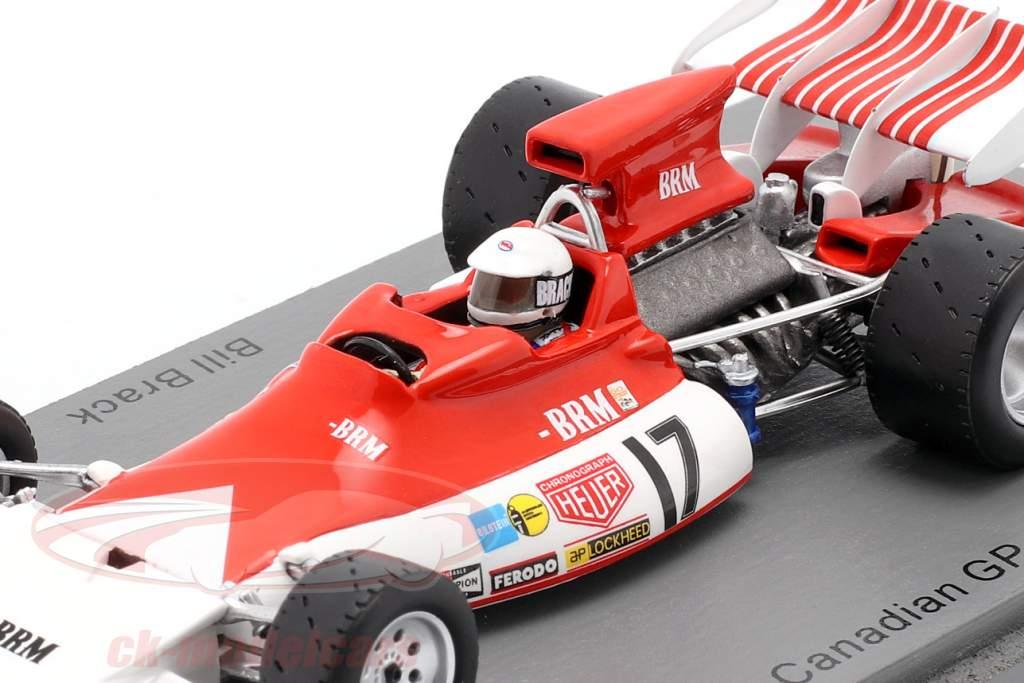 Bill Brack BRM P180 #17 canadense GP Fórmula 1 1972 1:43 Spark