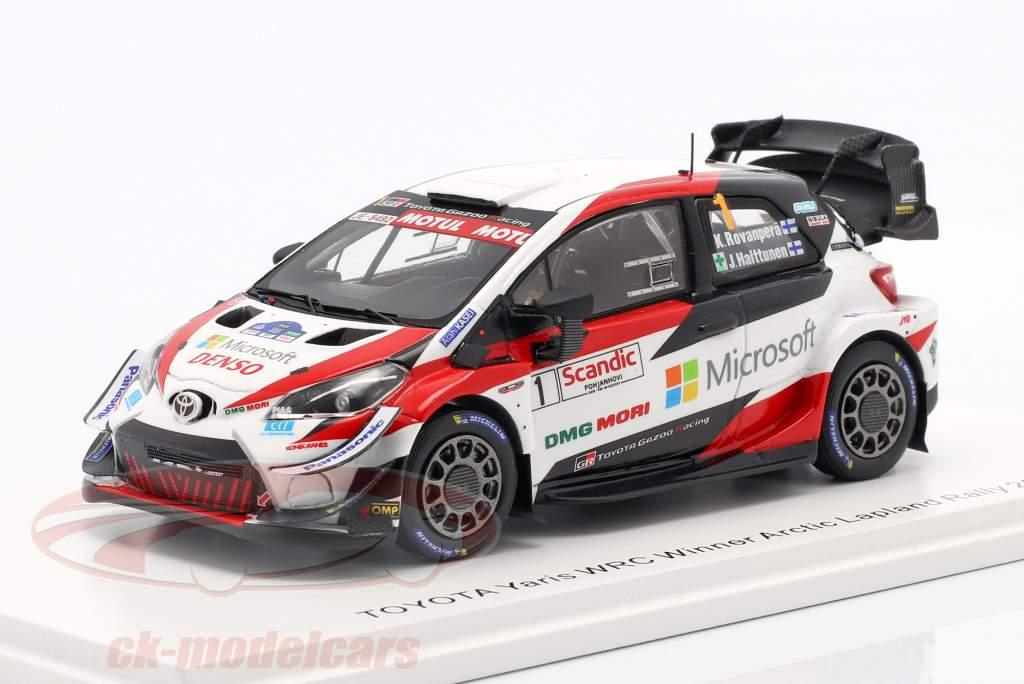 Toyota Yaris WRC #1 Winner Arctic Lapland Rallye 2020 1:43 Spark