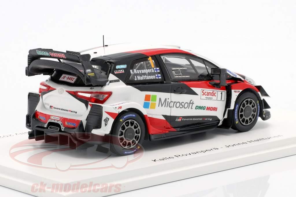 Toyota Yaris WRC #1 vinder Arktisk Lappland Rallye 2020 1:43 Spark
