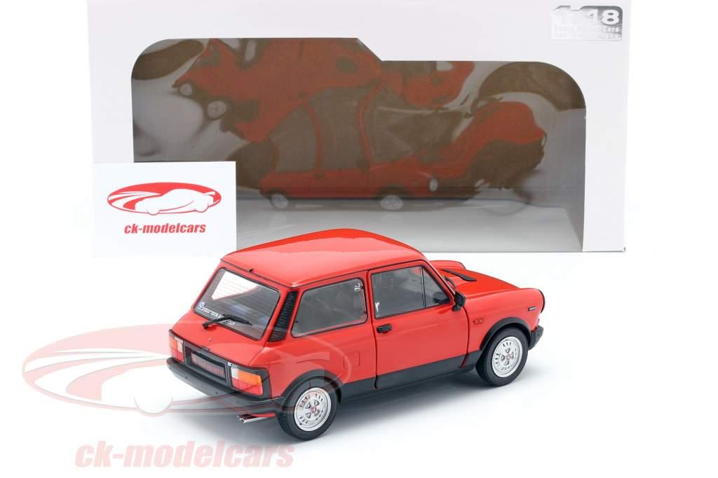 Autobianchi A112 Abarth MK5 1980 rojo 1:18 Solido