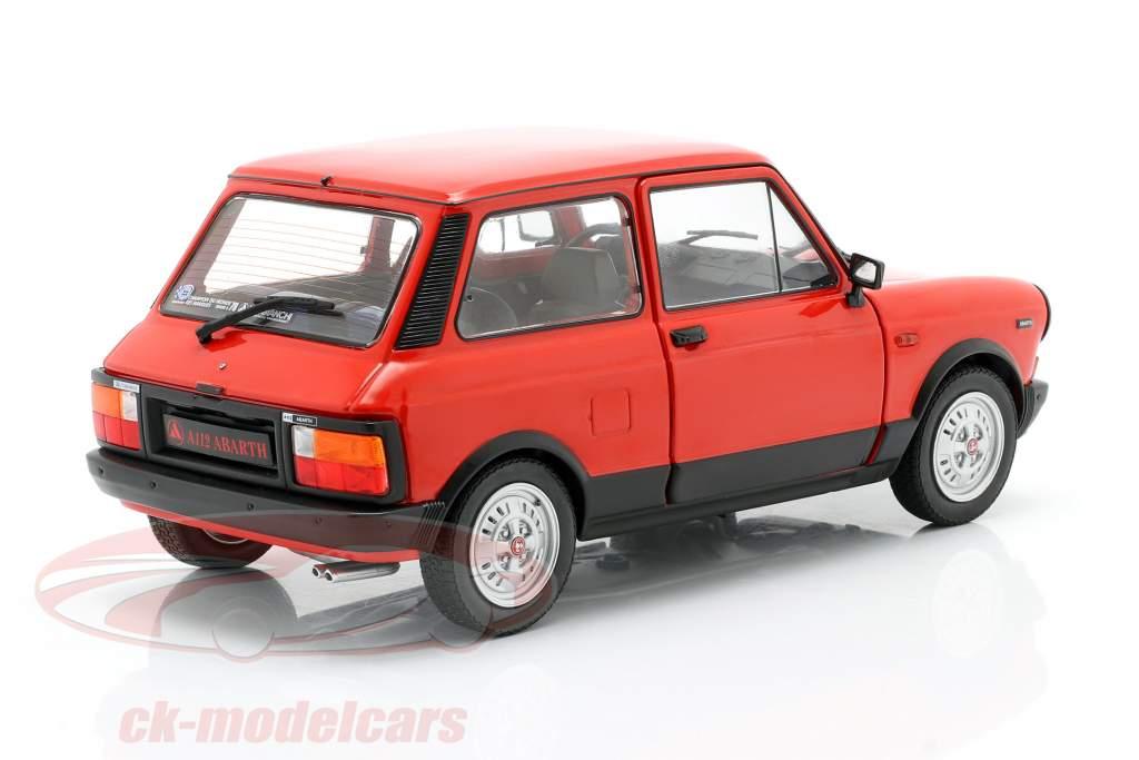 Autobianchi A112 Abarth MK5 1980 rood 1:18 Solido