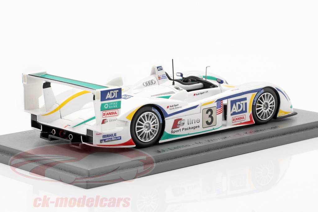 Audi R8 #3 Sieger 24h LeMans 2005 Lehto, Werner, Kristensen 1:43 Spark