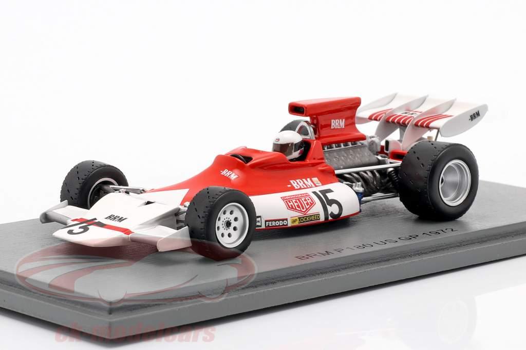 Brian Redman BRM P180 #15 USA GP Formel 1 1972 1:43 Spark
