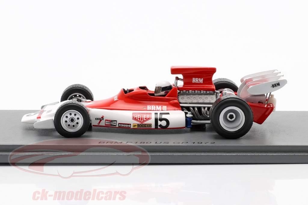 Brian Redman BRM P180 #15 Forenede Stater GP formel 1 1972 1:43 Spark