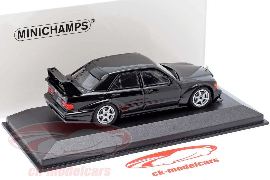 Mercedes-Benz 190E 2.5-16 Evo 2 year 1990 black 1:43 Minichamps