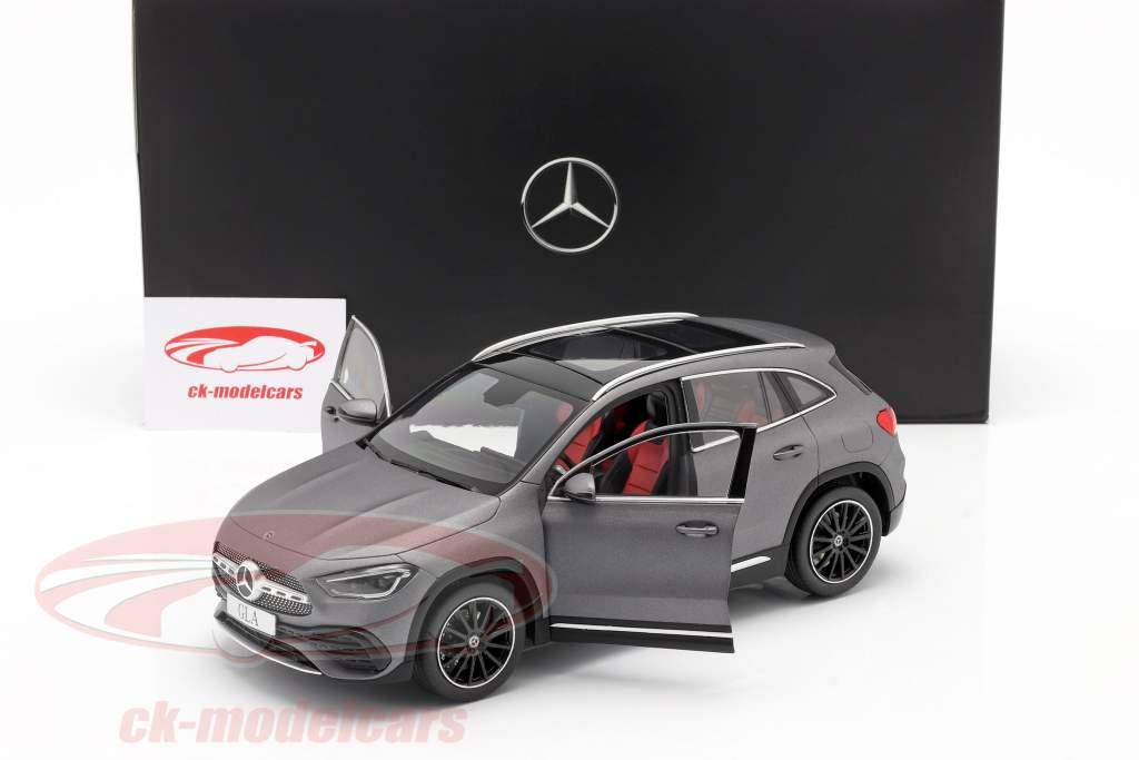Mercedes-Benz GLA-klasse (H247) Bouwjaar 2020 berggrijs 1:18 Z-Models