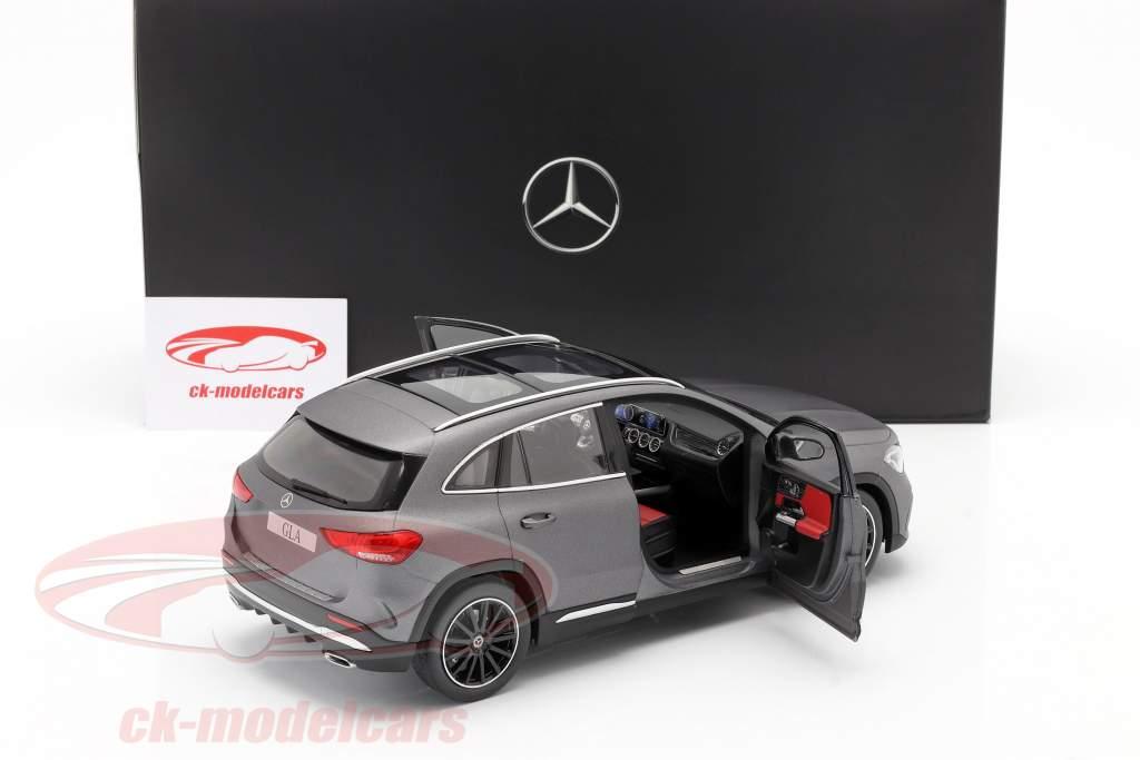 Mercedes-Benz Clase GLA (H247) Año de construcción 2020 gris montaña 1:18 Z-Models