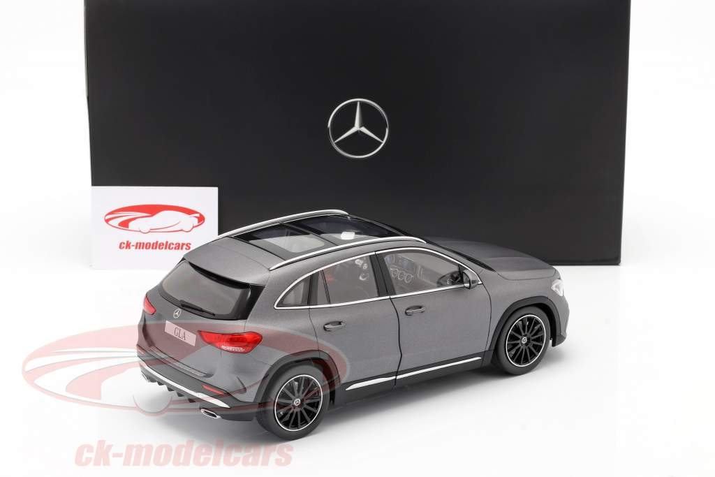 Mercedes-Benz Classe GLA (H247) Ano de construção 2020 montanha cinza 1:18 Z-Models