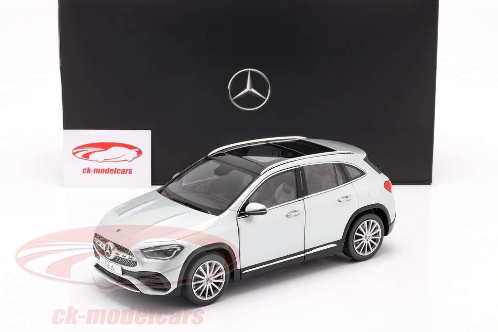 Mercedes-Benz GLA class (H247) year 2020 iridium silver 1:18 Z-Models