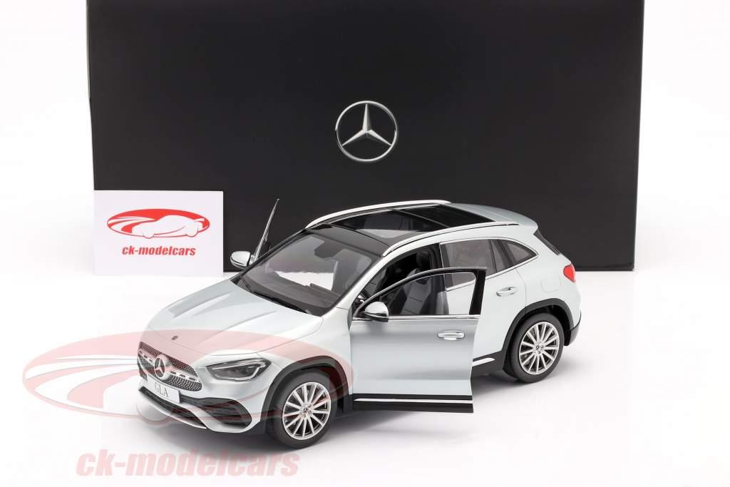 Mercedes-Benz Classe GLA (H247) Ano de construção 2020 prata de irídio 1:18 Z-Models