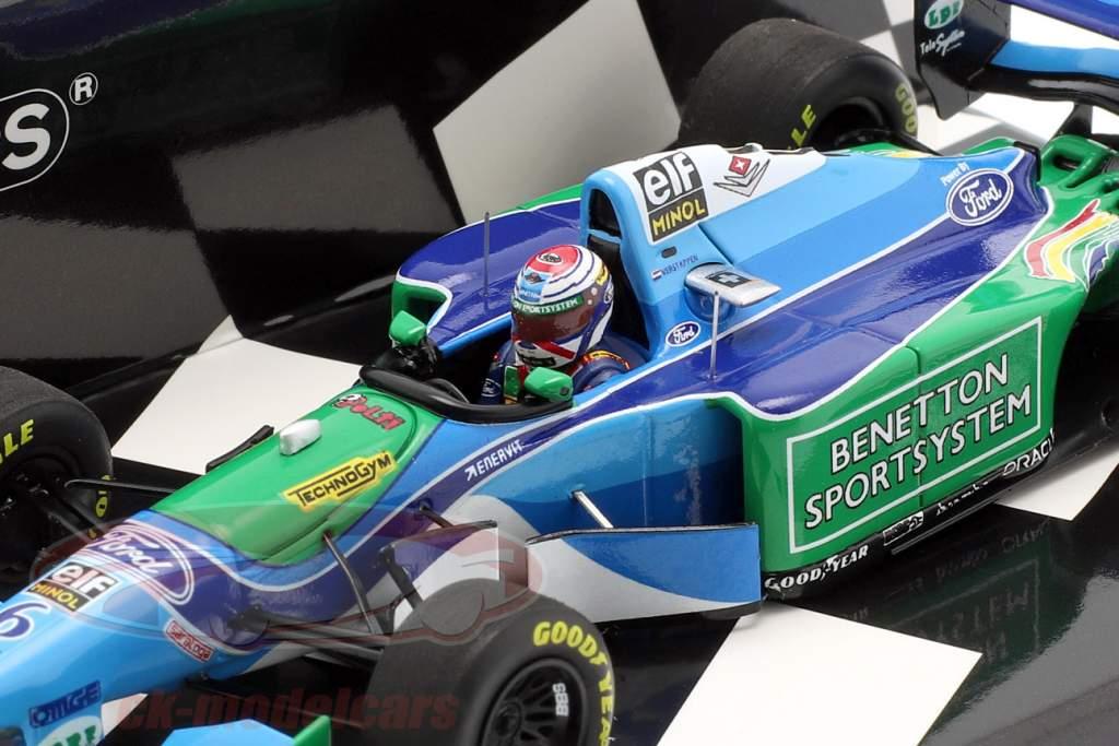 J. Verstappen Benetton B194 #6 Belgien GP formel 1 1994 1:43 Minichamps