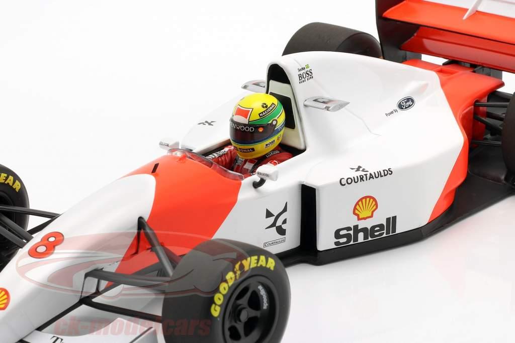 Ayrton Senna McLaren MP4/8 #8 Winner Japan GP Formel 1 1993 1:18 Minichamps