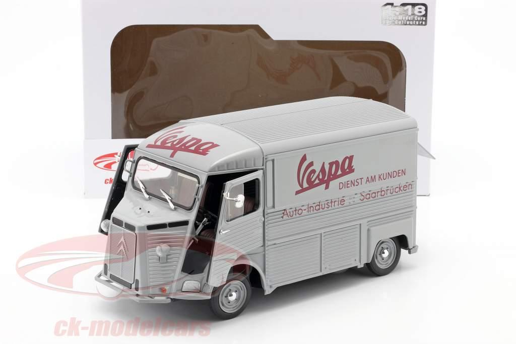 Citroen Type HY Vespa-Kundendienst Baujahr 1969 grau 1:18 Solido
