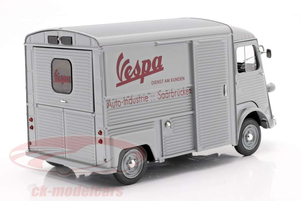 Citroen Type HY Vespa customer service year 1969 grey 1:18 Solido