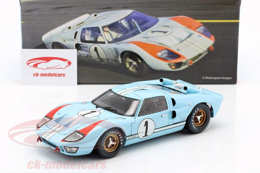 Ford GT40 MK II #1 2 ° 24h LeMans 1966 Miles, Hulme 1:18 ShelbyCollectibles