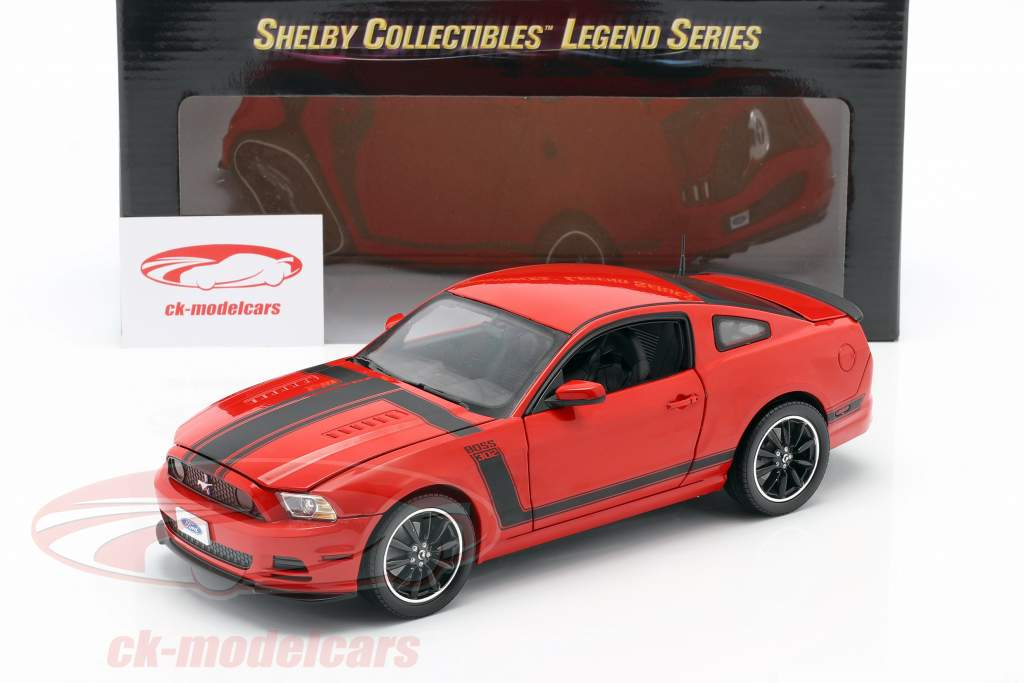 Ford Mustang Boss 302 Year 2013 red 1:18 ShelbyCollectibles