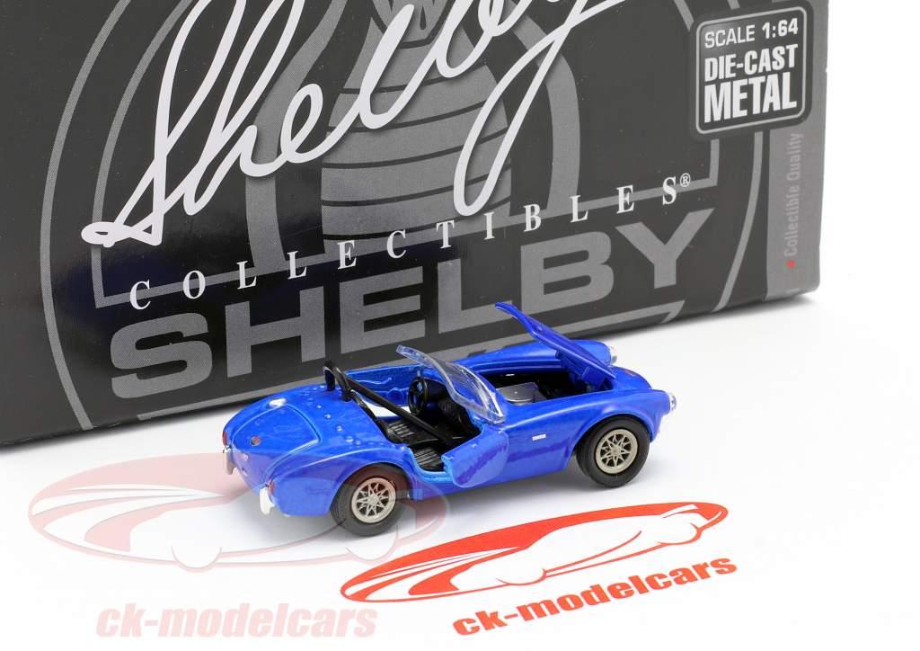 Shelby Cobra CSX2000 Anno di costruzione 1962 blu 1:64 ShelbyCollectibles