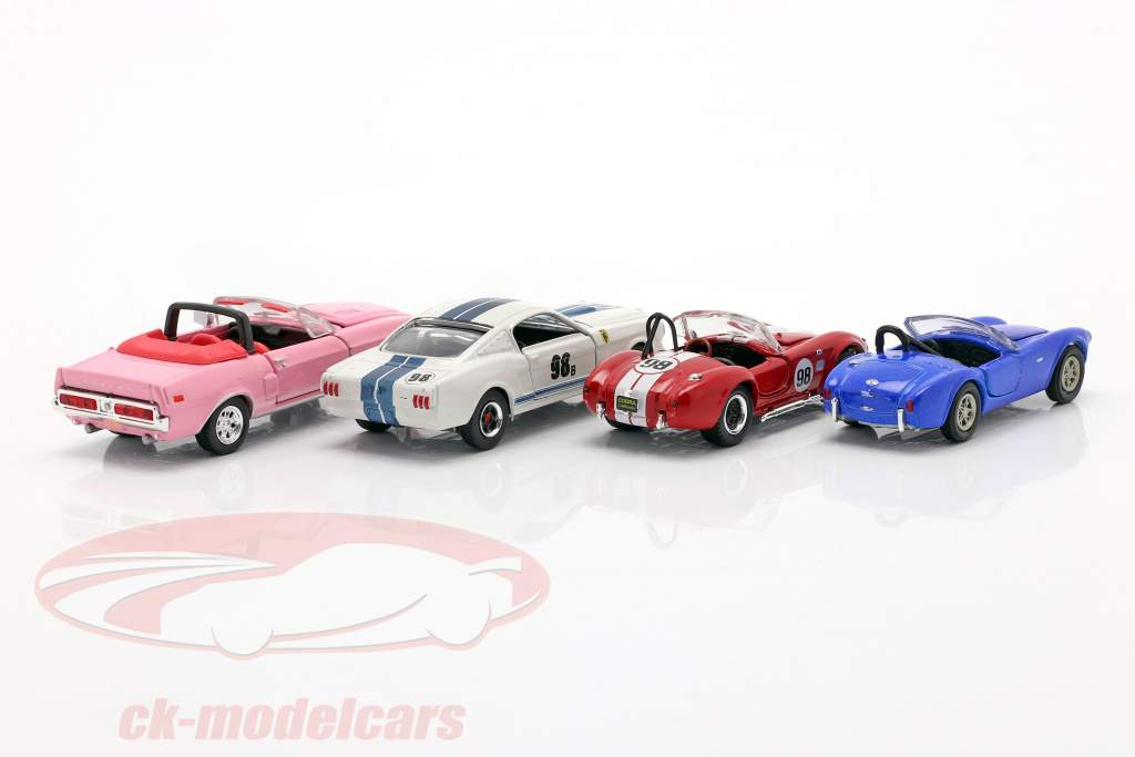 4-Car Set Ford Shelby 1:64 ShelbyCollectibles