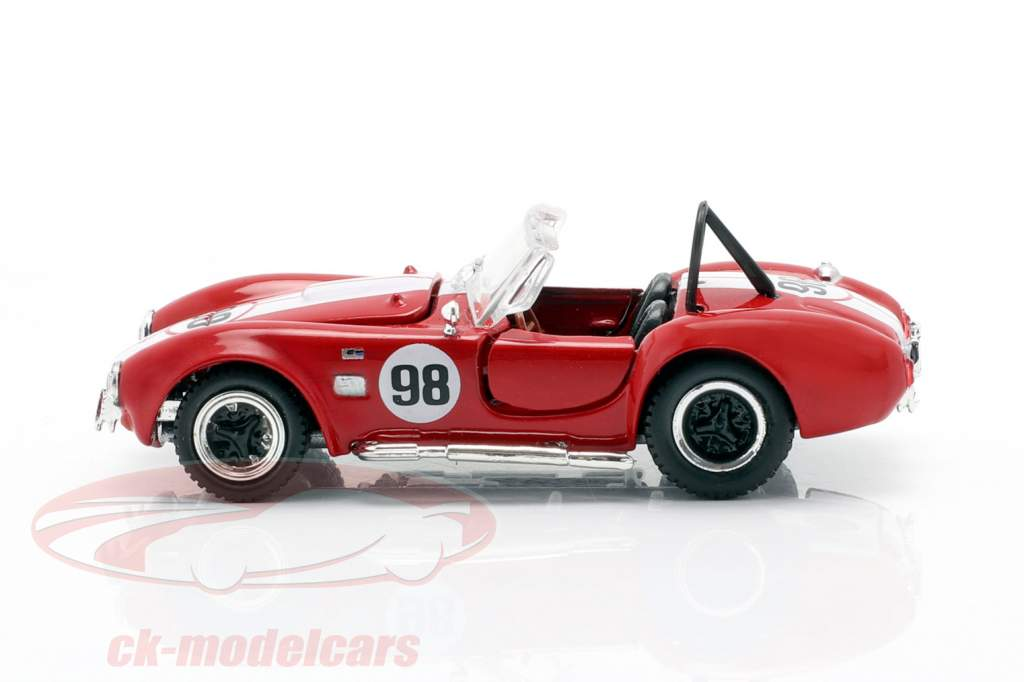 Shelby Cobra 427 S/C #98 Renn-Version rot / weiß 1:64 ShelbyCollectibles