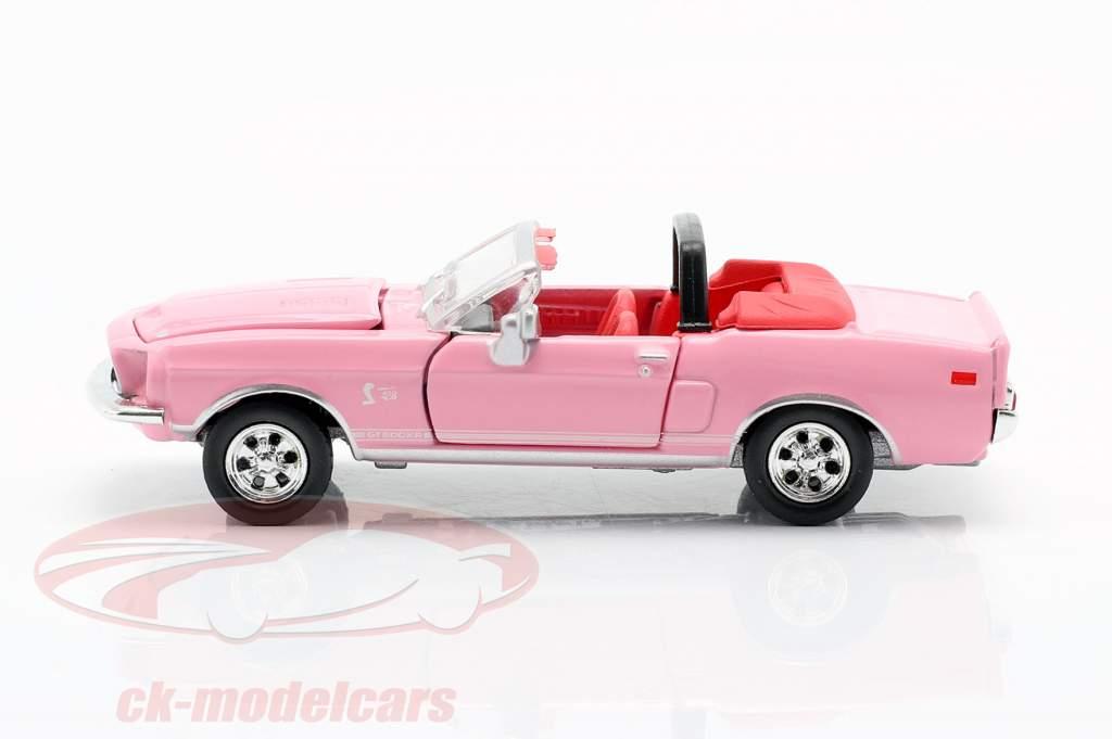 Shelby GT500KR Convertibile Anno di costruzione 1968 rosa 1:64 ShelbyCollectibles