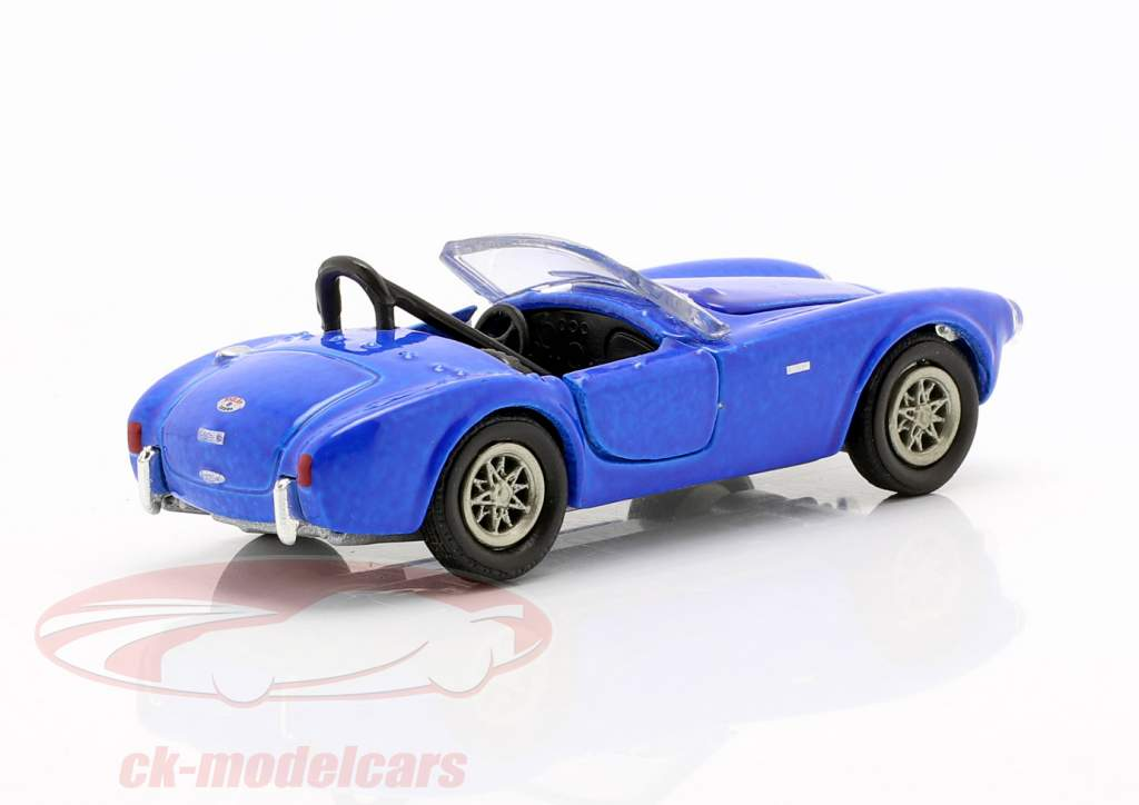 Shelby Cobra CSX2000 Byggeår 1962 blå 1:64 ShelbyCollectibles