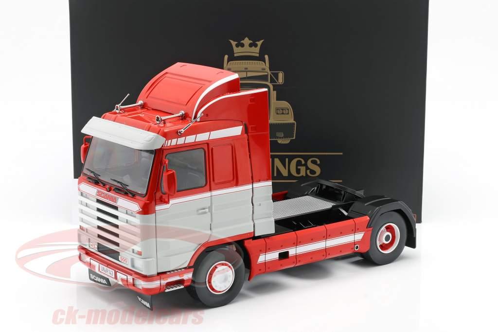 Scania 143 Streamline Camión 1995 rojo / Blanco / gris 1:18 Road Kings