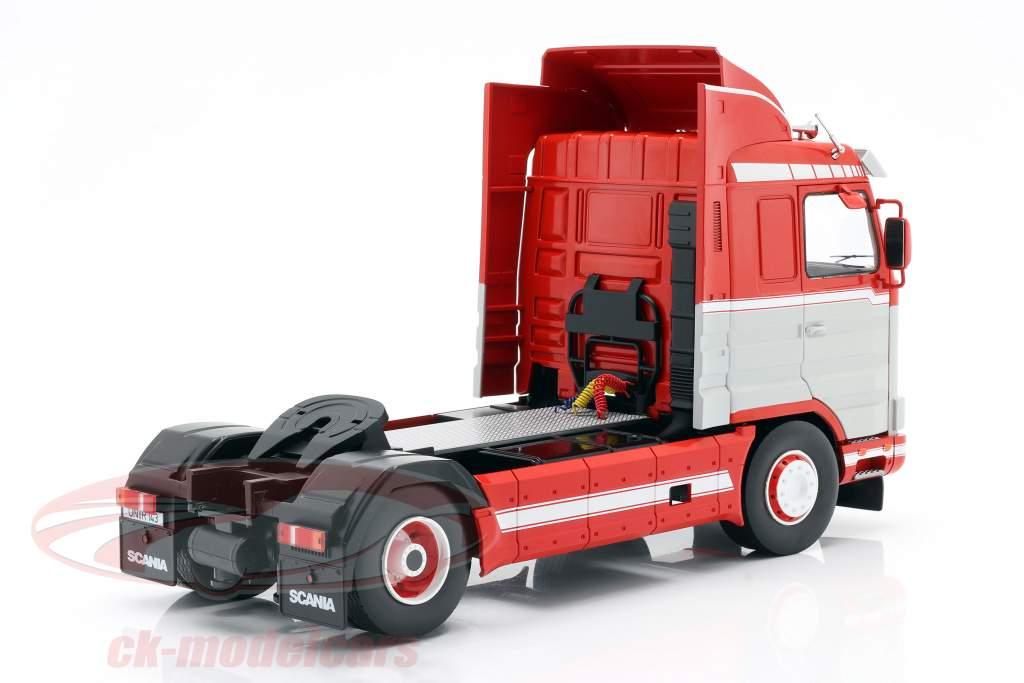 Scania 143 Streamline un camion 1995 rouge / blanc / gris 1:18 Road Kings