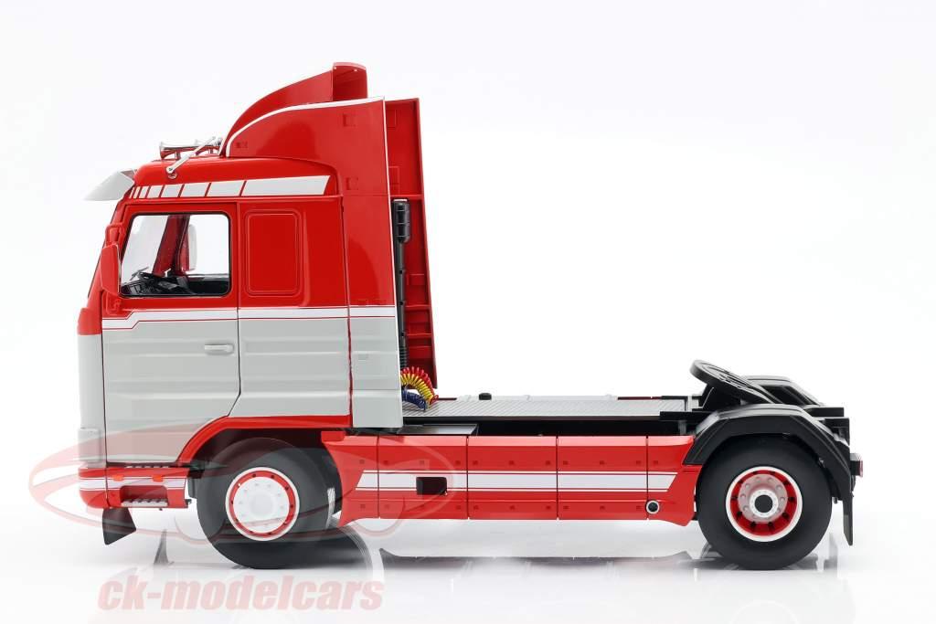 Scania 143 Streamline Caminhão 1995 vermelho / Branco / cinzento 1:18 Road Kings
