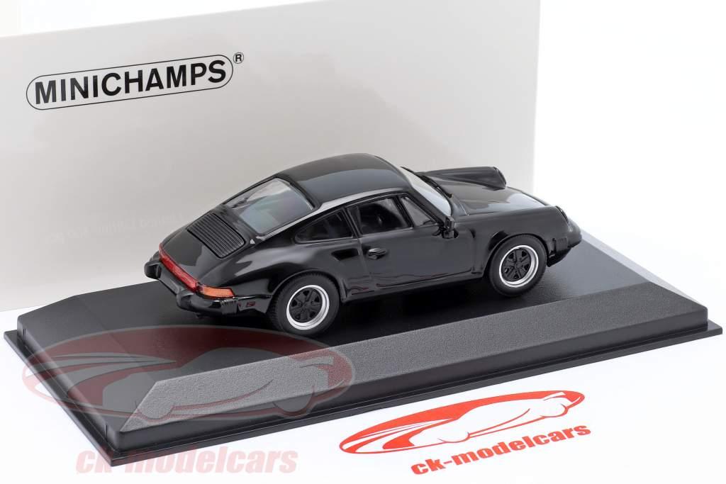 Porsche 911 SC Coupe Año de construcción 1979 negro 1:43 Minichamps