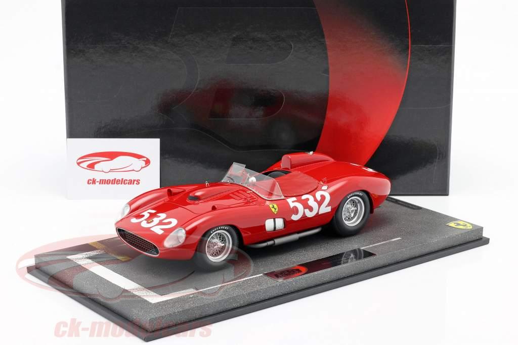 Ferrari 315 Sport #532 2do Mille Miglia 1957 Graf Berghe von Trips 1:18 BBR