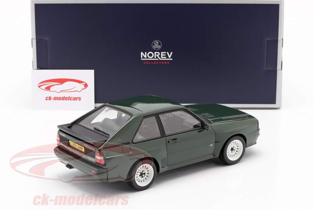Audi Sport Quattro Año de construcción 1985 verde oscuro 1:18 Norev